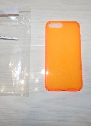 Силиконовый чехол для  iphone 7 plus , iphone 8 plus