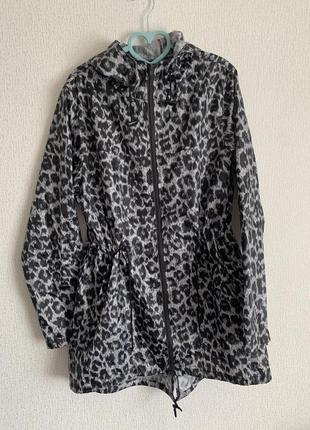 Плащ дождевик куртка леопард