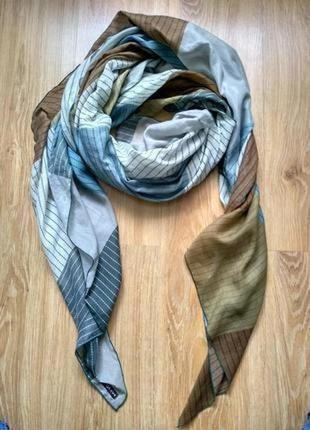 Manila grace большой фирменный шарф палантин