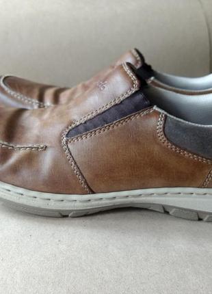 Туфли rieker в спортивном стиле, р.45-46