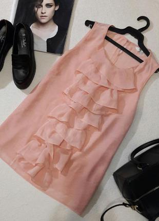 Красивая персиковая блуза размер xl