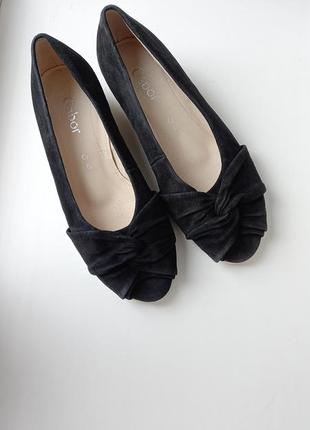Gabor туфли кожаные