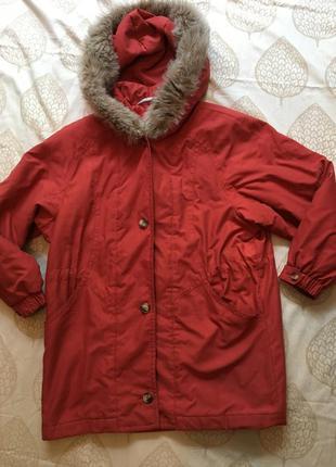 Куртка -парка на утеплителе м-л