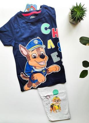 Пижама детская щенячий патруль paw patrol костюм піжама george primark