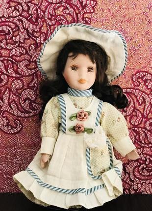 Кукла, винтаж, фарфор