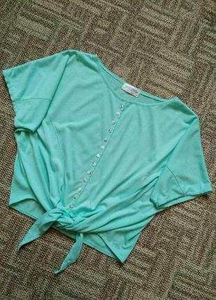 Стильная блузка на завязку
