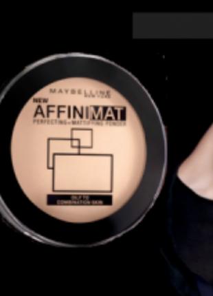 Матирующая пудра для лица affinimat maybelline