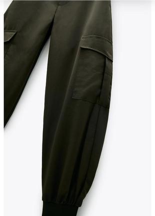 ❤только сутки такая цена ❤летние брюки / штаны zara3 фото