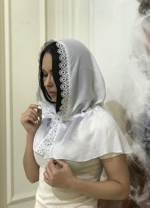 Платок капюшон, платок в храм