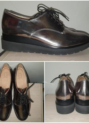 Оксфорды 42-43 р и 43-44 р туфли платформа