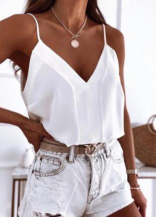 Летняя блуза топ, цвета, размеры!