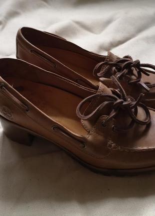 Туфли лоферы timberland под винтаж