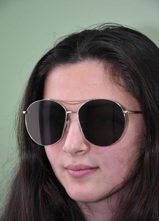 Новые солнцезащитные очки casta f 415 gldgry оригинал каста