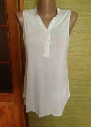 H&m  белая блузочка