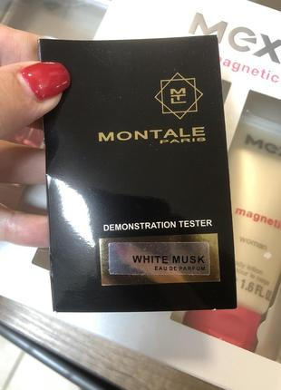 Пробник montale white musk 2мл оригинал