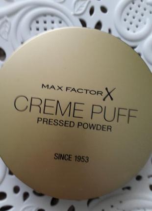 Компактная пудра для лица max factor creme puff