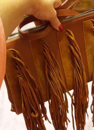Кожанная сумка fellini