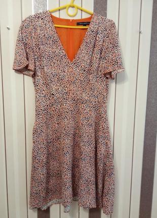 Натуральное платье french connection
