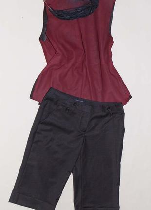 Удлиненные шорты на прохлодную погоду