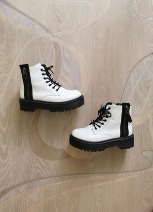 Лаковые ботинки, размер 38