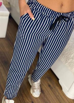 Женские штаны брюки на прогулку лето летние красивые новые купить недорого