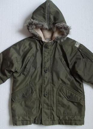 Куртка демисезонная на мальчика 4-5 лет рост 110 см