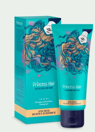 Ревитализирующая маска для волос princess hair принцесс хаир. оригинал, 75мл.