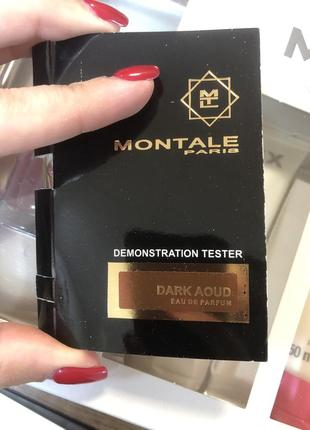 Пробник montale dark aoud оригинал