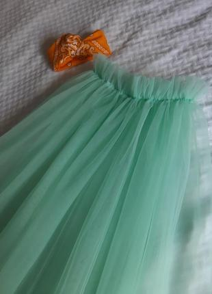 Фатиновая прозрачная юбочка