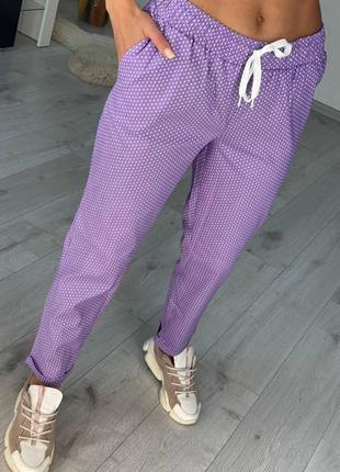 Женские брюки штаны летние свободное лёгкие новые купить женские лето