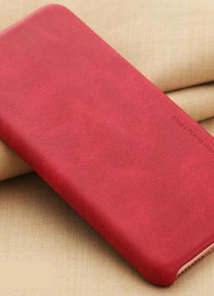 Чехол на айфон 6 6s pu кожа красный