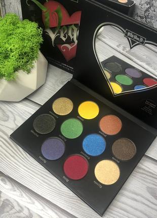Sale 🔥 палетка теней vegan love eyeshadow palette от американского бренда kvd