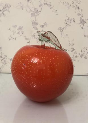 Шикарный декор яблоко