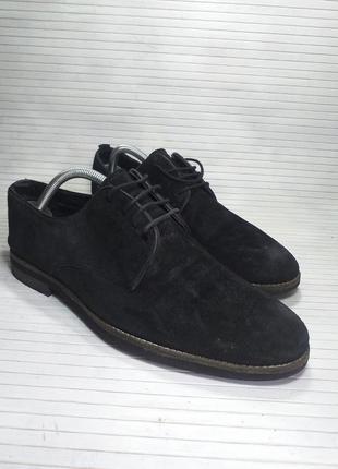 Замшевые мужские туфли!