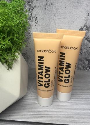 Увлажняющий праймер с витаминами для сияния кожи smashbox photo finish vitamin glow primer
