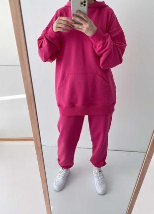 Тотальная распродажа! только до 21.06!  розовое худи фуксия кофта свитшот