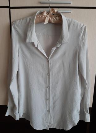 Шелковая рубашка блуза the kooples