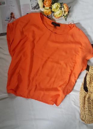 Топ блуза майка кораллового цвета район100%