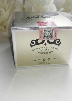 Окрашивающий воск для волос mofajang серый 120 гр4 фото