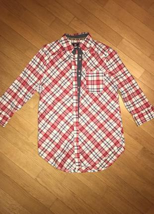 Удлинённая рубашка lee cooper