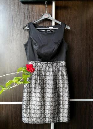 Шикарное платье сукня, с блестящим низом. h&m