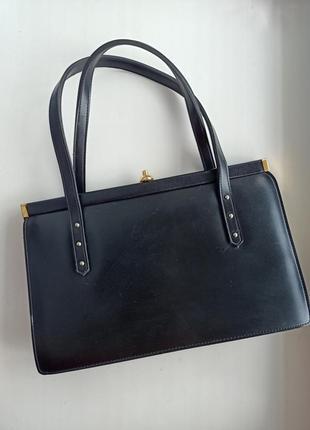 Винтажная сумка ридикюль reedex настоящий винтаж 50-е