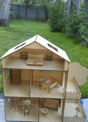 Ляльковий будинок. кукольний домик лол