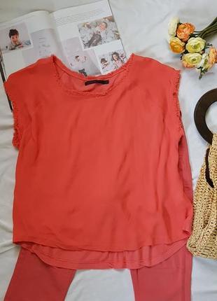 Блуза топ майка футболка вискоза