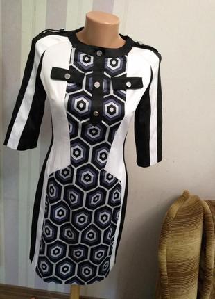 Платье сукня karen millen миди футляр вечернее коктельное