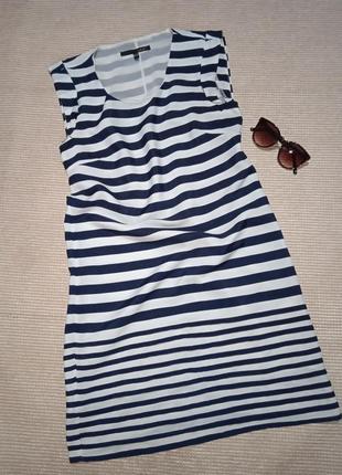 Плаття в полоску платье тельняжка на море