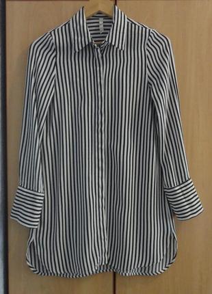 Супер брендовая блуза блузка рубашка туника