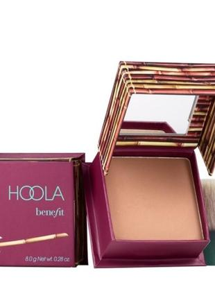Бронзирующая пудра benefit hoola matte bronzer
