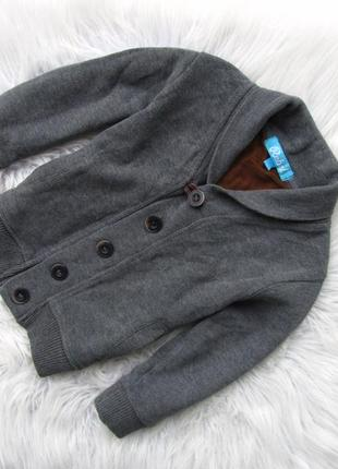Кофта реглан свитер кардиган джемпер rebel на локтях нашивки