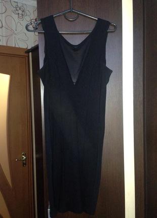 Бандажное черное платье бренда kiki riki!!!оригинал!!лучшая цена!!